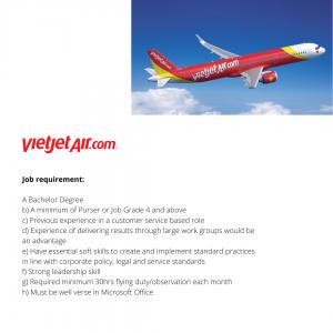 La compañía vietnamita tiene actualmente abierto su proceso de contratación