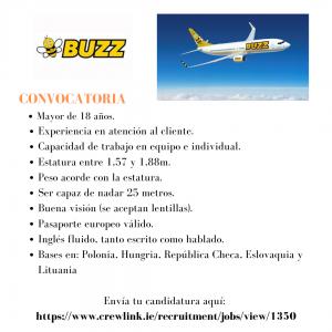 La compañía aérea ha iniciado su campaña de contratación