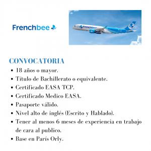 La aerolínea francesa está buscando actualmente TCPs