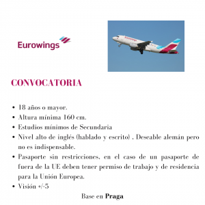 Eurowings busca TCPs