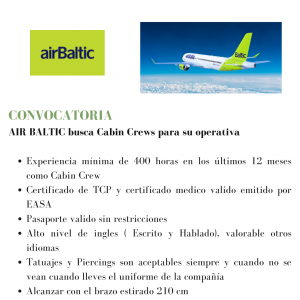airBaltic busca TCPs